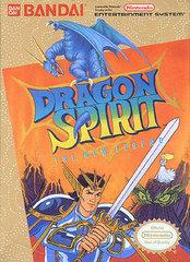 Dragon Spirit DMG LABEL    NINTENDO ENTERTAINMENT SYSTEM