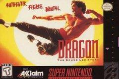 Dragon The Bruce Lee Story    SUPER NINTENDO ENTERTAINMENT SYSTEM