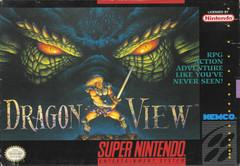 Dragon View BOXED COMPLETE    SUPER NINTENDO ENTERTAINMENT SYSTEM