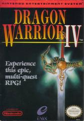 Dragon Warrior IV COMPLETE DMG LABEL    NINTENDO ENTERTAINMENT SYSTEM