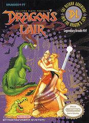 Dragons Lair DMG LABEL    NINTENDO ENTERTAINMENT SYSTEM