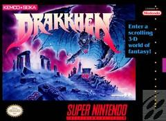 Drakkhen DMG LABEL    SUPER NINTENDO ENTERTAINMENT SYSTEM