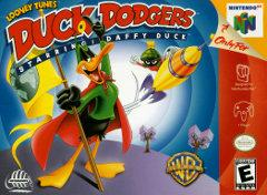 Duck Dodgers Starring Daffy Duck DMG LABEL    NINTENDO 64