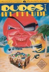 Dudes with Attitude DMG LABEL    NINTENDO ENTERTAINMENT SYSTEM