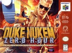 Duke Nukem Zero Hour DMG LABEL    NINTENDO 64