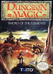 Dungeon Magic Sword of the Elements     NINTENDO ENTERTAINMENT SYSTEM