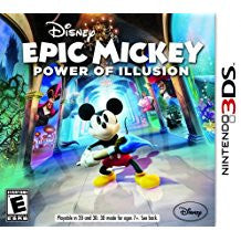 Epic Mickey Power of Illusion    NINTENDO 3DS