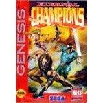 Eternal Champions DMG LABEL    SEGA GENESIS