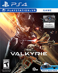 Eve Valkyrie    PLAYSTATION 4 VR