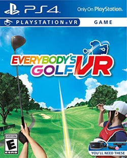 Everybodys Golf VR    PLAYSTATION 4 VR