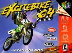 Excitebike 64 DMG LABEL    NINTENDO 64