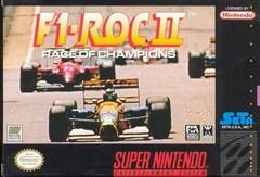 F1 ROC II Race Of Champions    SUPER NINTENDO ENTERTAINMENT SYSTEM