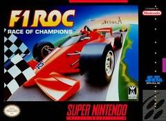 F1 ROC Race Of Champions DMG LABEL    SUPER NINTENDO ENTERTAINMENT SYSTEM
