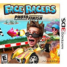 Face Racers Photo Finish 3D    NINTENDO 3DS