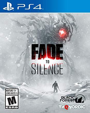 Fade To Silence    PLAYSTATION 4