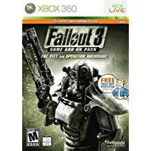Fallout 3 Anchorage & The Pitt Add-On Pack (BC)    XBOX 360