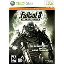 Fallout 3 Broken Steel & Point Lookout Add-On Pack (BC)     XBOX 360