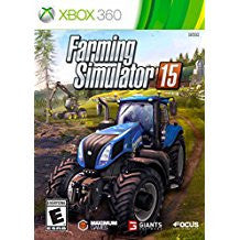 Farming Simulator 15    XBOX 360