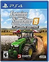 Farming Simulator 19 Platinum Edition    PLAYSTATION 4