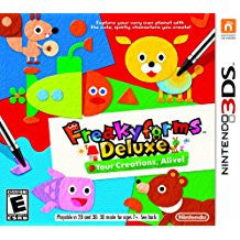 Freakyforms Deluxe Your Creations Alive    NINTENDO 3DS