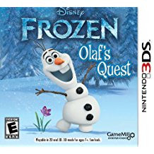 Frozen Olafs Quest    NINTENDO 3DS