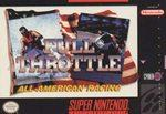 Full Throttle All America Racing BOXED COMPLETE    SUPER NINTENDO ENTERTAINMENT SYSTEM