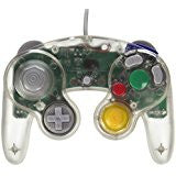 Gamecube Wired Controller Clear (TTX)    NINTENDO GAMECUBE NEW CONTROLLER