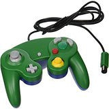 Gamecube Wired Controller Green (TTX)    NINTENDO GAMECUBE NEW CONTROLLER