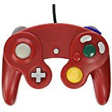 Gamecube Wired Controller Red (TTX)    NINTENDO GAMECUBE NEW CONTROLLER
