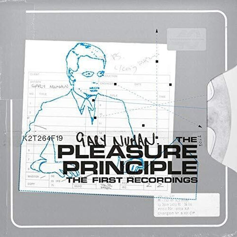 Gary Numan - Pleasure Principle The First Recordings (Orange Vinyl)