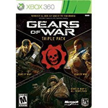 Gears of War Triple Pack (BC)    XBOX 360