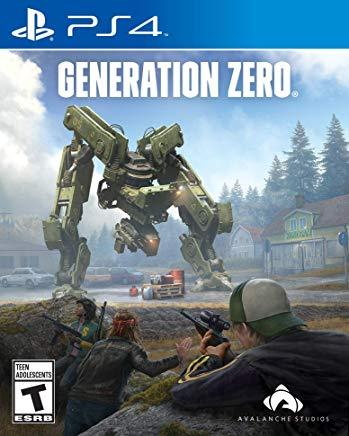 Generation Zero    PLAYSTATION 4