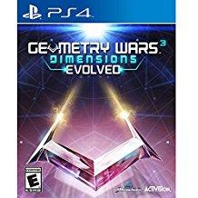 Geometry Wars 3 Dimensions Evolved    PLAYSTATION 4