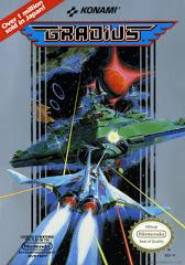 Gradius DMG LABEL    NINTENDO ENTERTAINMENT SYSTEM