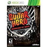 Guitar Hero Warriors of Rock (software)    XBOX 360