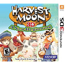Harvest Moon A New Beginning    NINTENDO 3DS