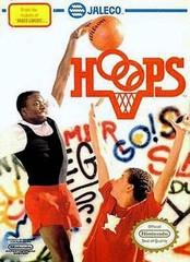 Hoops DMG LABEL    NINTENDO ENTERTAINMENT SYSTEM
