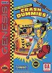 The Incredible Crash Dummies DMG LABEL    SEGA GENESIS