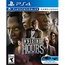 Invisible Hours    PLAYSTATION 4 VR