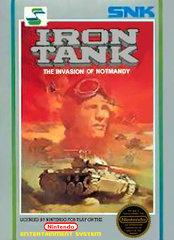 Iron Tank DMG LABEL    NINTENDO ENTERTAINMENT SYSTEM