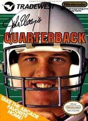 John Elways Quarterback DMG LABEL    NINTENDO ENTERTAINMENT SYSTEM