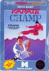 Karate Champ DMG LABEL    NINTENDO ENTERTAINMENT SYSTEM