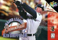 Major League Baseball Featuring Ken Griffey Jr     NINTENDO 64