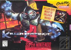 Killer Instinct DMG LABEL    SUPER NINTENDO ENTERTAINMENT SYSTEM