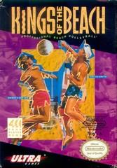Kings of the Beach DMG LABEL    NINTENDO ENTERTAINMENT SYSTEM