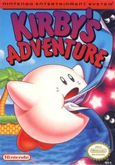 Kirbys Adventure     NINTENDO ENTERTAINMENT SYSTEM