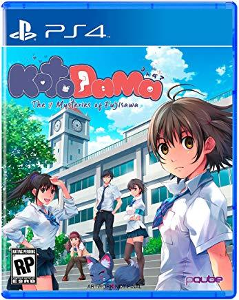 Kotodama The 7 Mysteries Of Fujisawa    PLAYSTATION 4