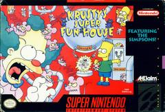 Krustys Super Fun House    SUPER NINTENDO ENTERTAINMENT SYSTEM