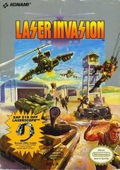 Laser Invasion     NINTENDO ENTERTAINMENT SYSTEM