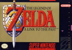 Legend of Zelda A Link to the Past BOXED COMPLETE    SUPER NINTENDO ENTERTAINMENT SYSTEM